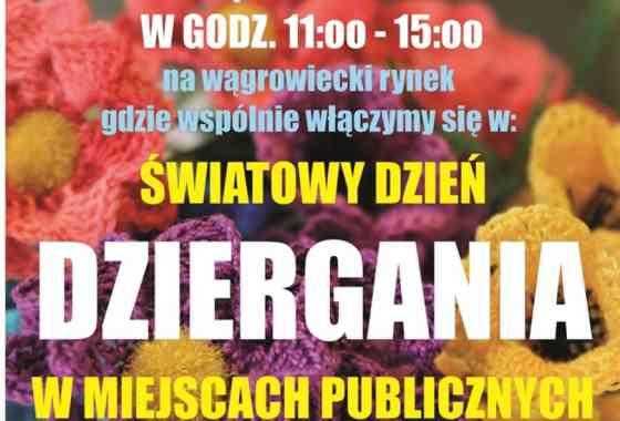 Światowy Dzień Dziergania w Miejscach Publicznych